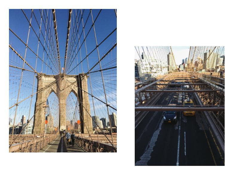 Que faire new york - Toile pont de brooklyn ...